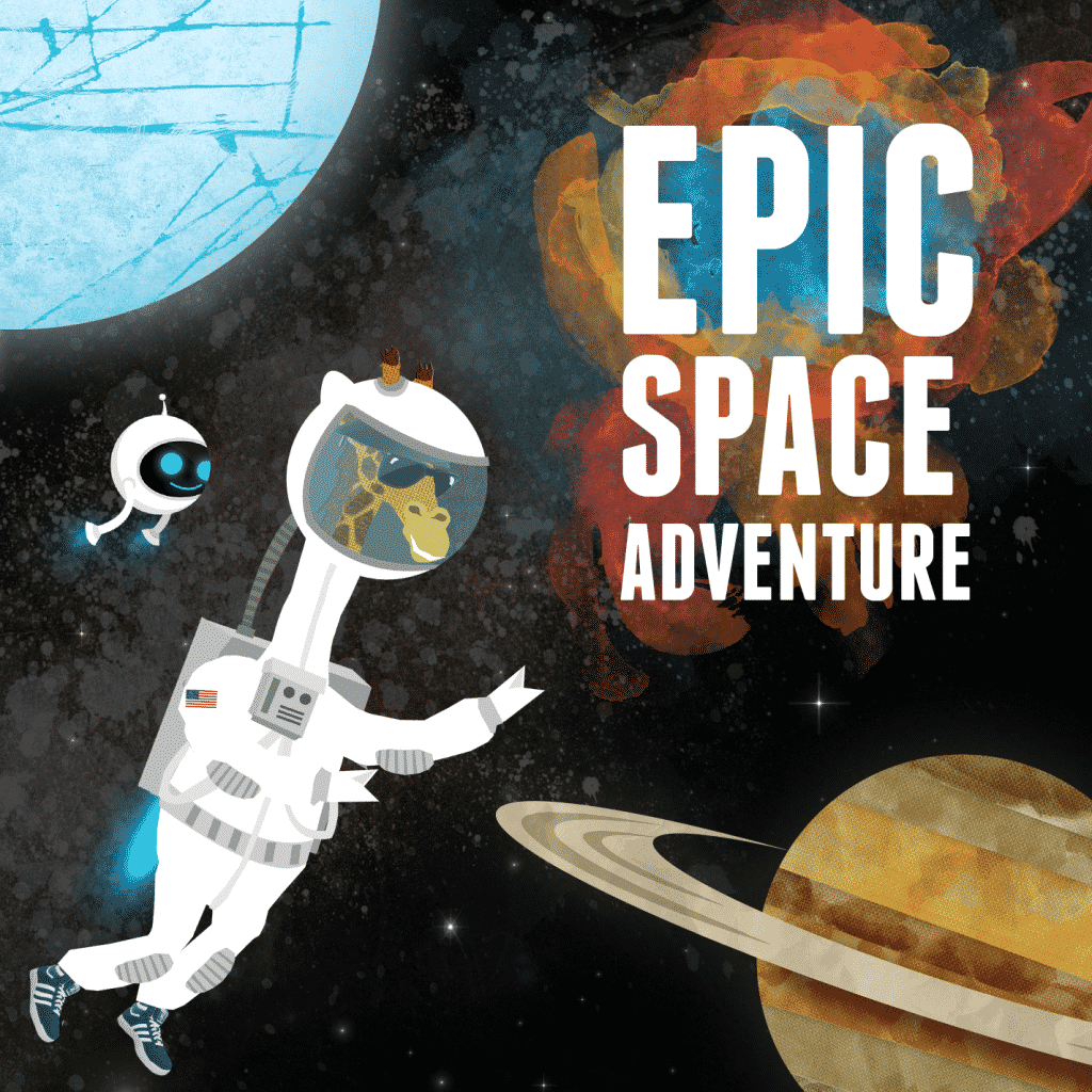 Epic Space Adventure by Andrew Rader