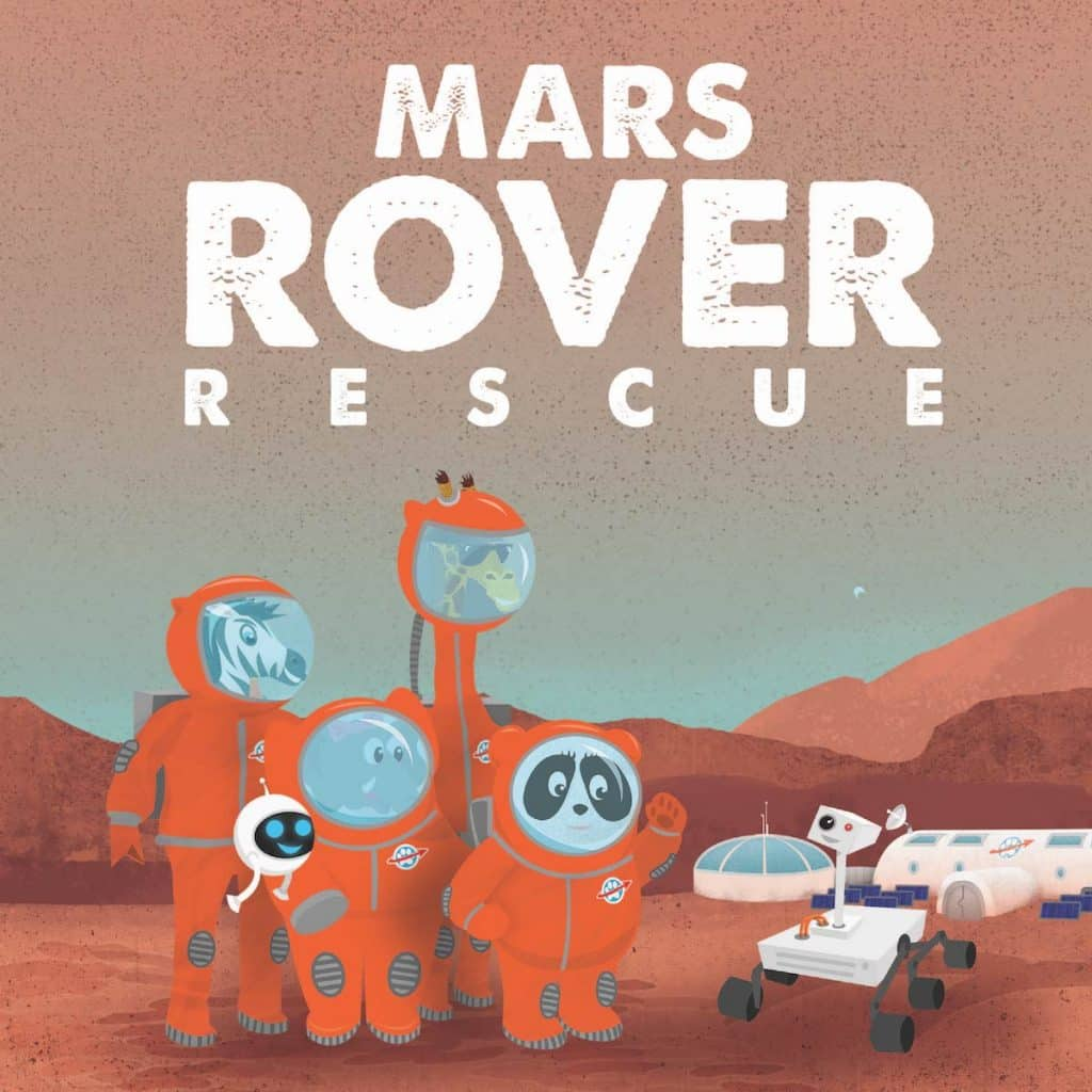 Mars Rover Rescue by Andrew Rader